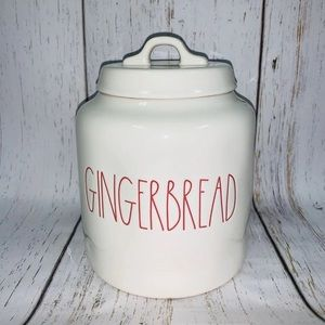 RAE DUNN COOKIE CANISTER CERAMIC KITCHEN JAR